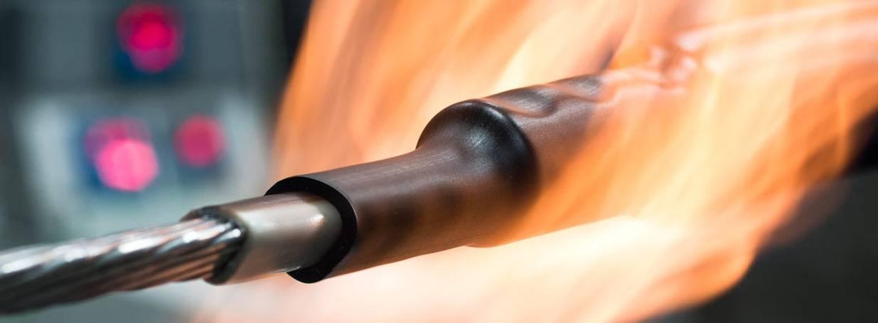 Фото: нагрев открытым огнем