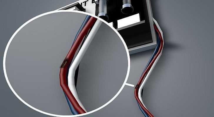 Проблемы со шнуром - возможный вариант неисправности посудомойки
