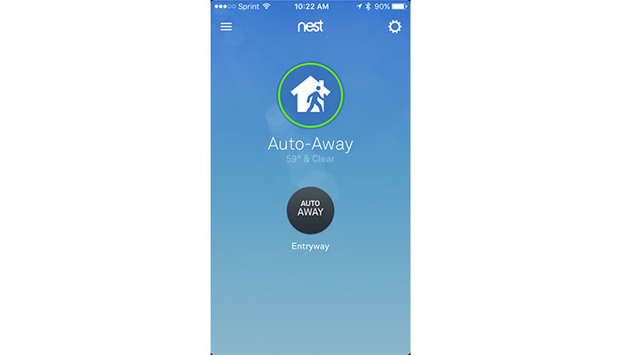 Nest Thermostat mobile