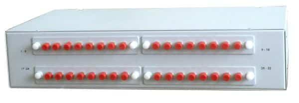 Оптический кроссовый модуль на 32 порта SC (LC duplex)