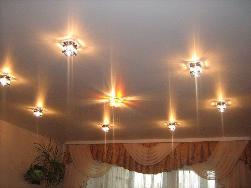 Наружные точечные светильники