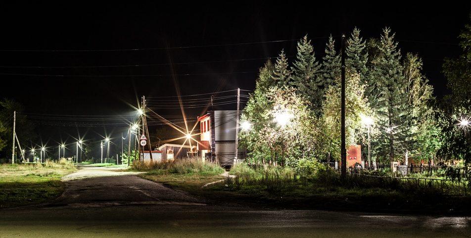 Освещение улиц в сельской местности
