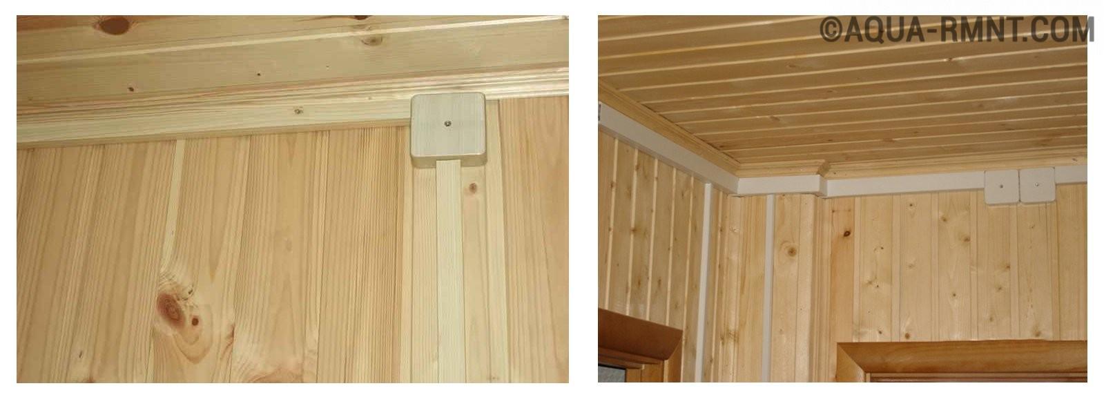 Открытая проводка в жилом доме в кабель-каналах