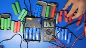 Плюс и минус у аккумулятора 18650 Li-Ion