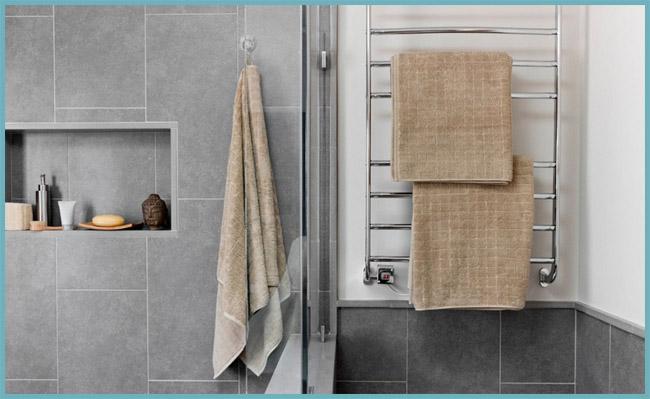 обогрев ванной полотенцесушителем