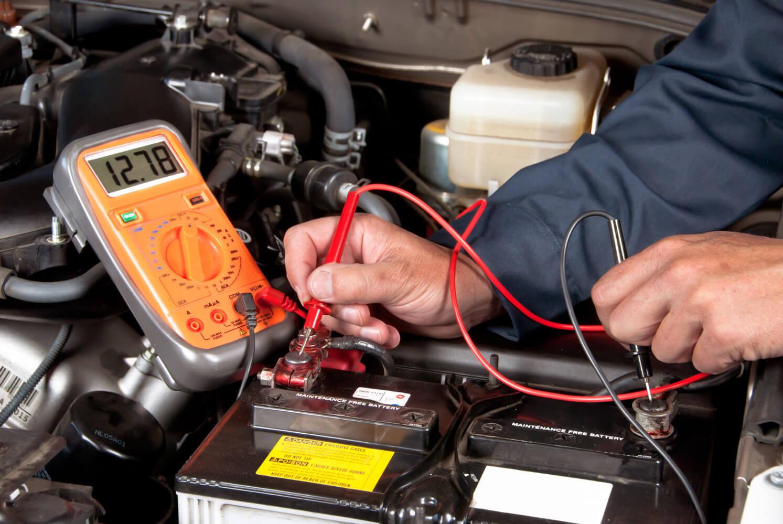 Проверка автомобильного аккумулятора
