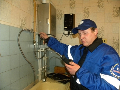 Проверка утечки газа