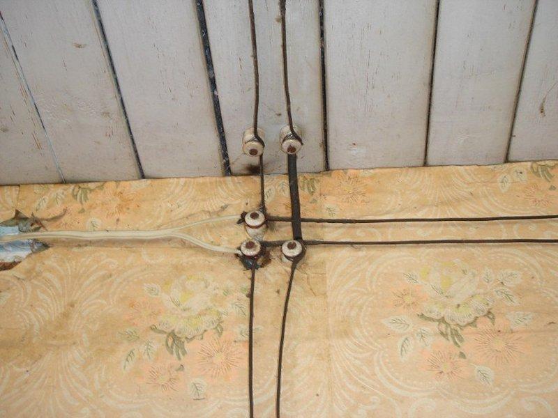 Провода и выключатели