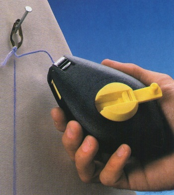 Как пользоваться разметочным шнуром