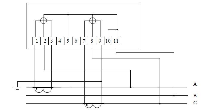 Схема счетчика 5