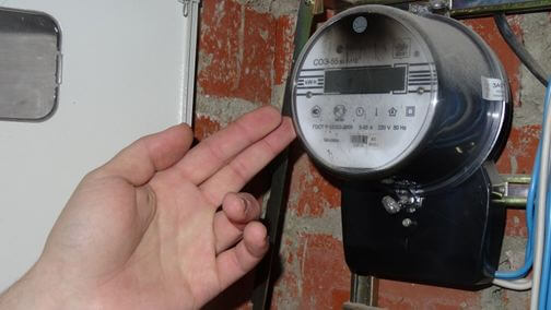 Сгоревший прибор учета электроэнергии фото