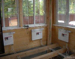 Системы отопления для дачи