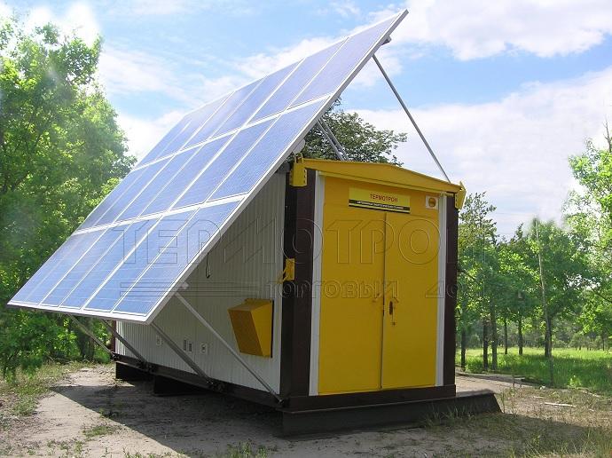 Солнечные батареи Термотрон