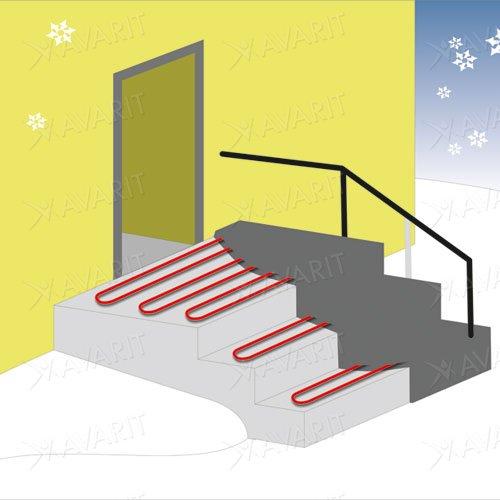 кабель для систем снеготаяния