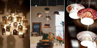 Идеи для дачных светильников