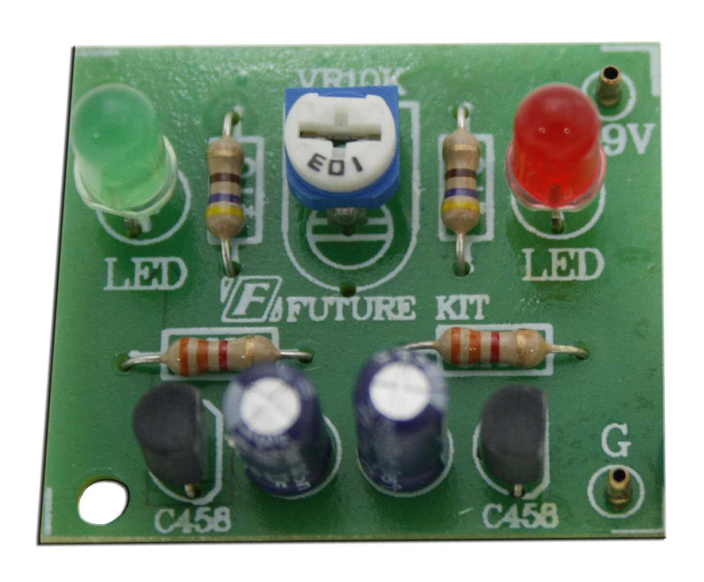 Фото: подключение резистора к светодиодным освещениям