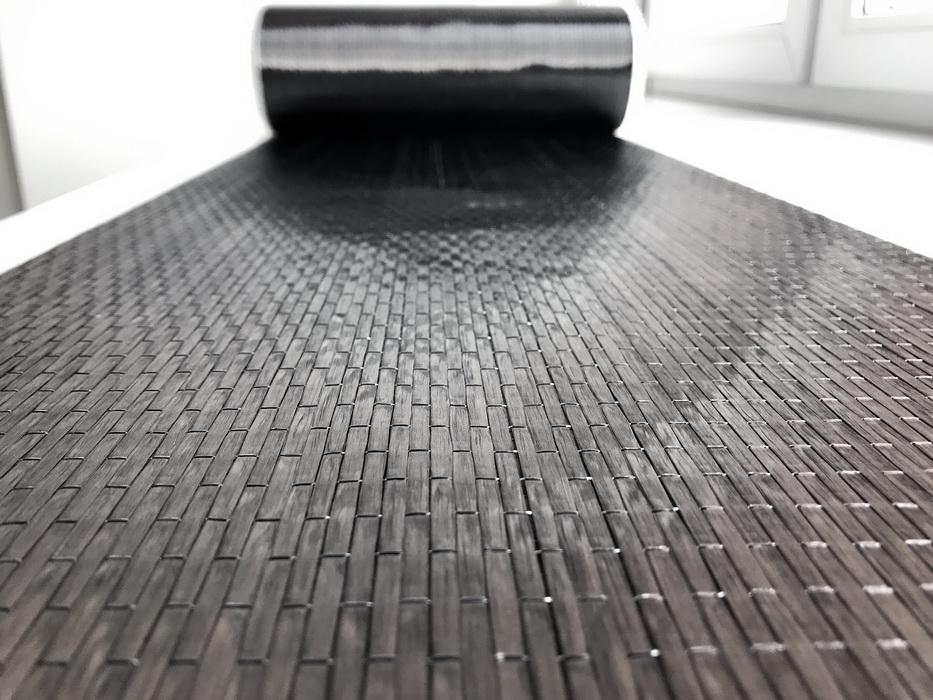 Однонаправленная углеродная лента для усиления конструкций