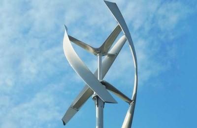 Установленный ветрогенератор