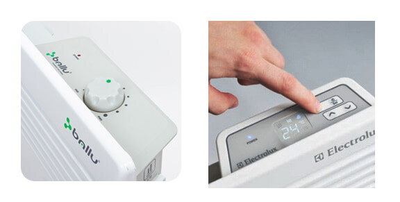Механический и электронный терморегулятор