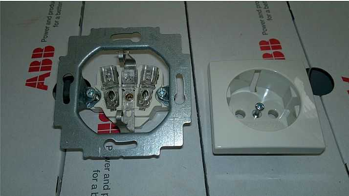Общее устройство электрической розетки