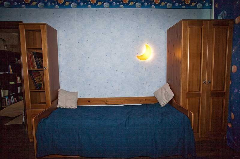 Оригинальное решение для комнаты ребенка