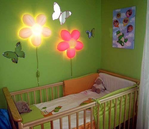 Интересный дизайн в детской комнате