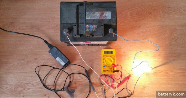 Зарядка с помощью ЗУ ноутбука