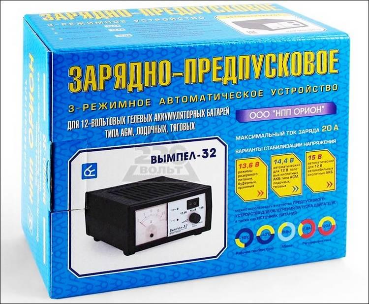 Устройство для гелевых аккумуляторов