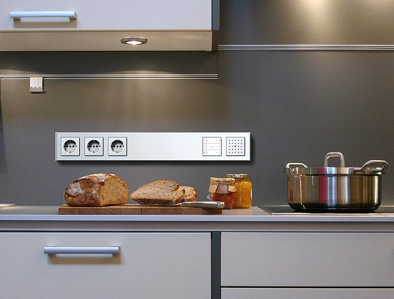 Кухонные розетки в интерьере