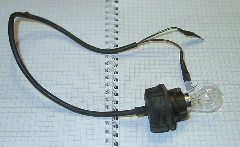 Лампа контролька электрика