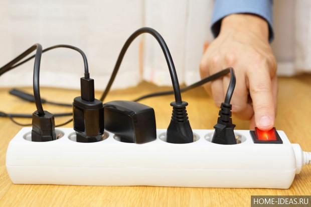 Контроль потребления энергии