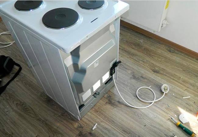 Как подключить кабель к электро плите
