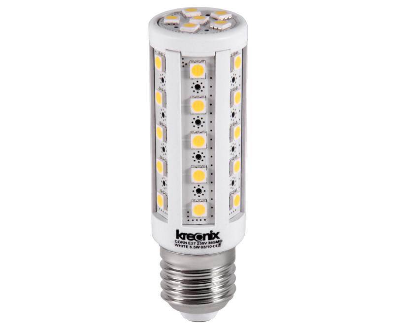 Лампа «кукуруза» дает больше света, но и потребление энергии у нее выше