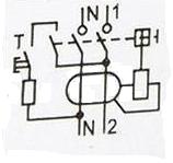 Схема механического УЗО
