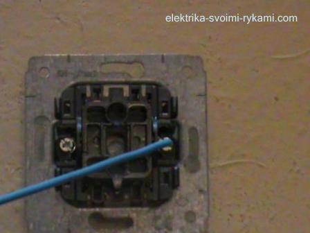 Как установить выключатель 24
