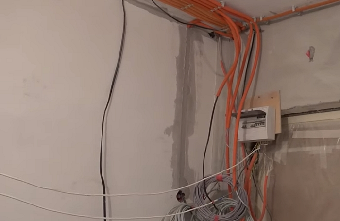 Современный монтаж электропроводки