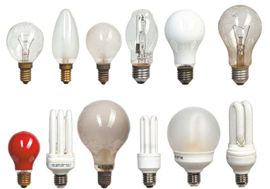 Разнообразие лампочек