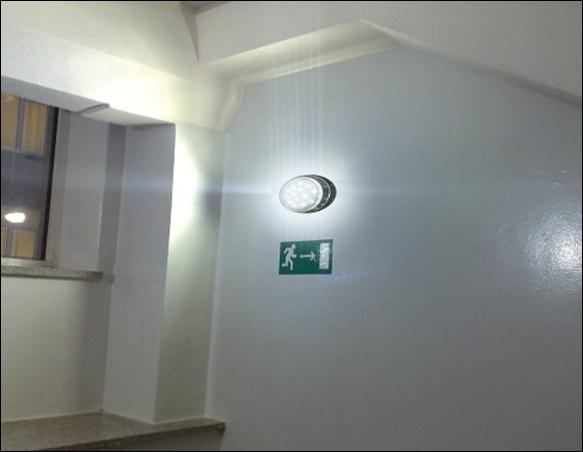 светодиодный датчик движения
