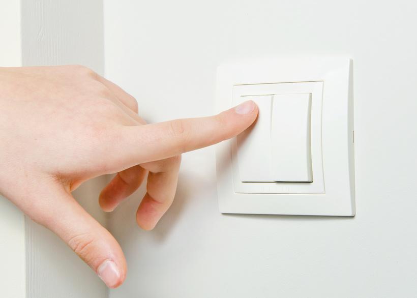 Управление с одного выключателя