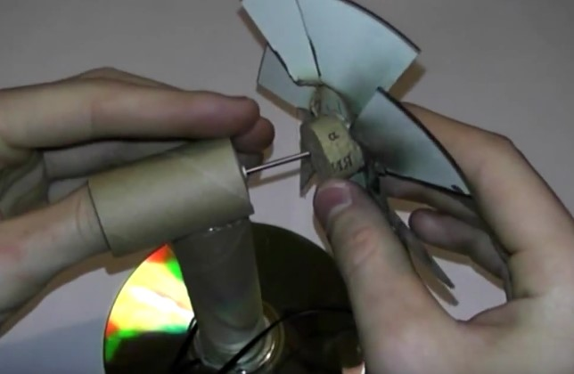 Делаем мини вентилятор своими руками