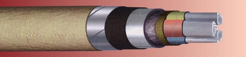 Провод силовой, имеющий алюминиевую жилу