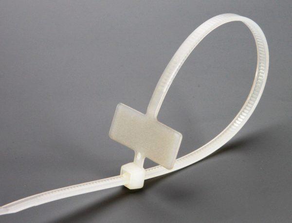 Пластиковые одноразовые кабельные стяжки