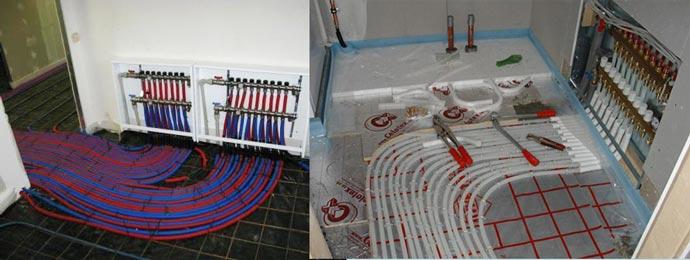 Подключаем и тестируем водяной пол