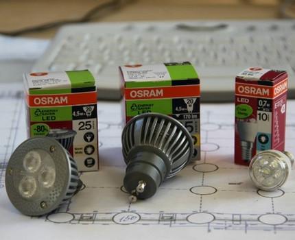 Светодиодные лампы Osram