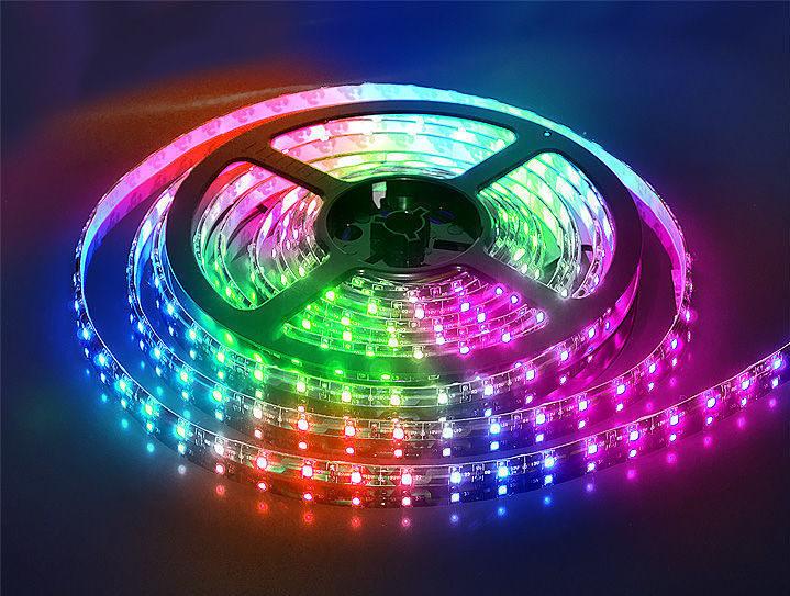 RGB-лента в герметичном исполнении