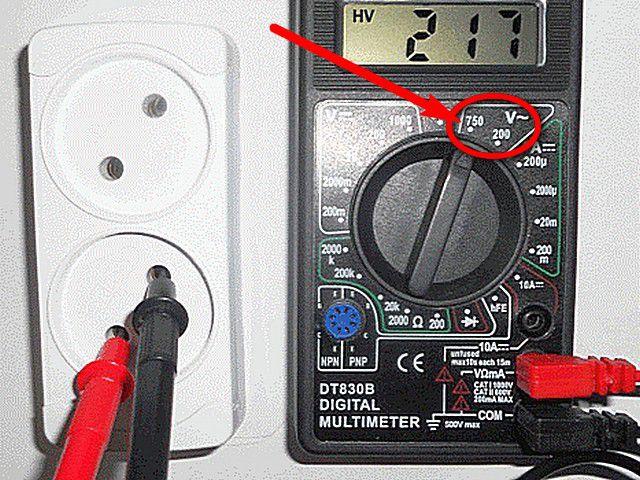 Не забудьте проверить правильность установок измерительного прибора!