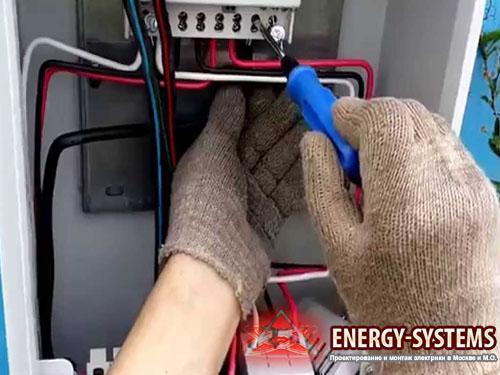 Сборка электрощитовой продукции