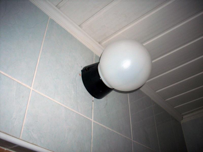 Светильник в водонепроницаемом корпусе