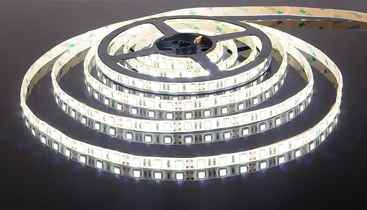 Фото белой светодиодной ленты