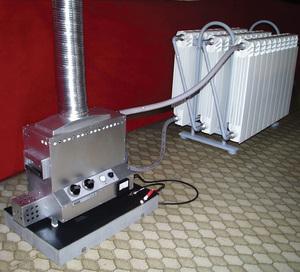 Термоэлектрический котелок генератор партизанский котелок